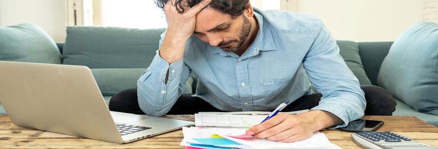 Endettement et problèmes financiers